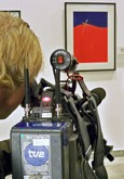 Spanish TVE documents the exhibition