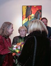 art place berlin - Opening of the exhibition - RUDOLF DRAHEIM - INNER LANDSCAPES