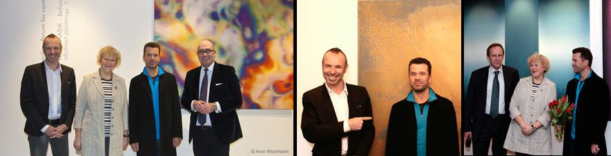 art place berlin - Exhibition - Before the Silence - painting by Ivar Kaasik_opening-1.