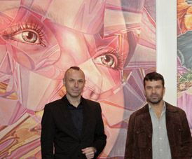 Opening Ivar Kaasik exhibition at art place berlin