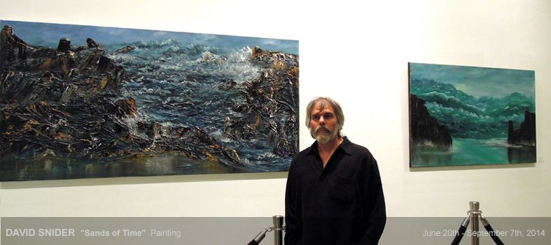 "art place berlin - exhibition: ""Sands of Time"" - Paintings ""Along the Coastquot; and ""Cape Cod"" by David Snider"