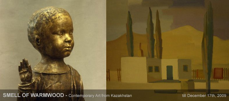 SMELL OF WARMWOOD - Contemporary Art from Kazakhstan
