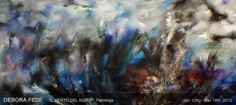 art place berlin - past exhibition: DEBORA FEDE - IL VENTO DEL NORD - painting