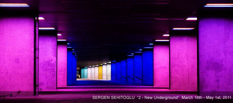 art place berlin - past exhibition: Sergen Sehitoglu, 2 - New Underground