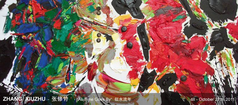 past exhibition: ZHANG XIUZHU - As Time Goes By
